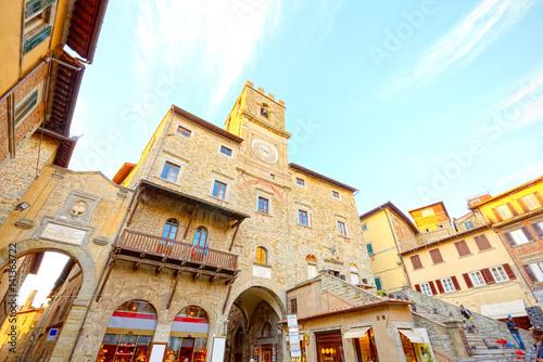 Hall of Cortona, Arezzo, Tuscany Wallpaper Mural