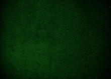 Dark Green Background Or Texture With Spray Paint