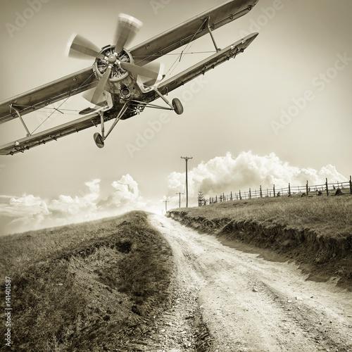 Foto biplane
