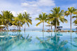 Luxurious five stars holiday resort on tropical paradise island