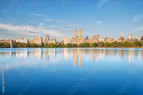 Fototapeta Central Park - Jacqueline Kennedy Onassis Reservoir obraz