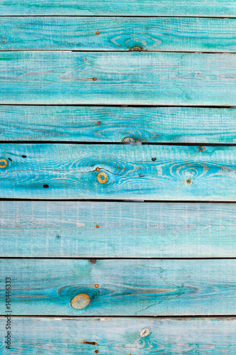 The Blue Colored Wood