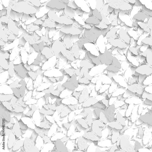 Seamless Butterfly Texture