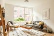 Leinwanddruck Bild - modern living room