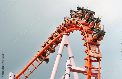 Zdjęcie XXL Przejażdżka rollercoasterem