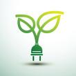 Eco plug vector
