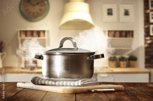 Obraz na płótnie kitchen pot