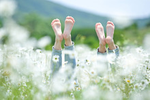 Feet On The Nature