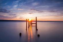 Sunset On Seneca Lake In The Finger Lakes
