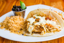 Fish Tacos Rice And Black Beans