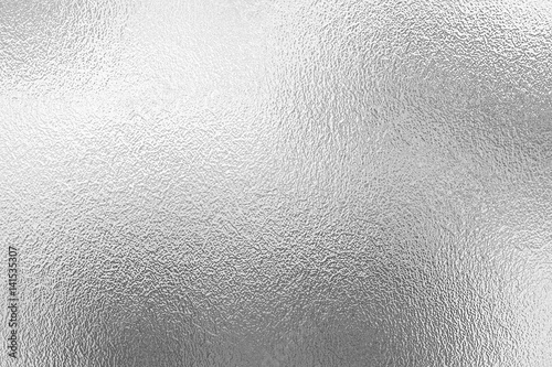 Silver foil texture Fototapeta