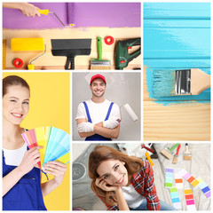 Collage for decorator theme