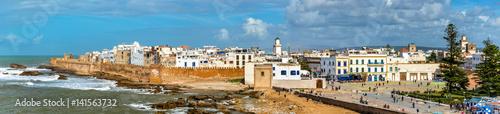 Poster Maroc Cityscape of Essaouira, a UNESCO world heritage site in Morocco