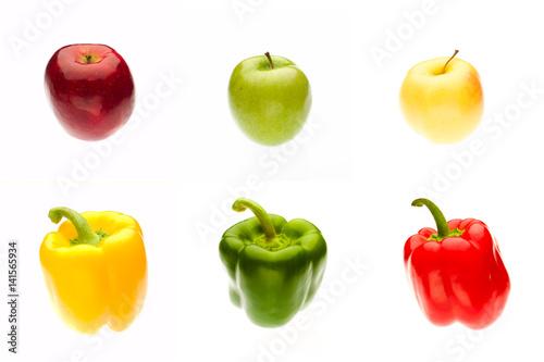 Fotografie, Obraz  Veggies and Fruit