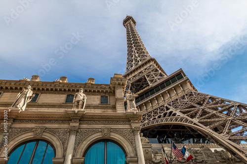Spoed Fotobehang Las Vegas Eiffel Tower Replica - Las Vegas, Nevada, USA