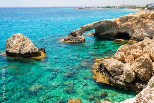 Foto op Plexiglas Cyprus Cyprus, Bridge of Lovers