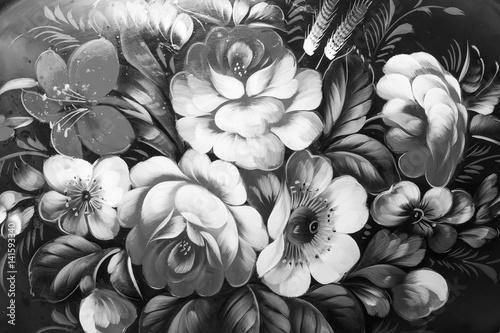 Obraz olejny, styl impresjonizmu, malowanie tekstur, kwiat martwa natura obraz malowany obraz kolorowy,