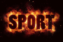 Sport Sports Text Flame Flames Burn Burning Hot Explosion