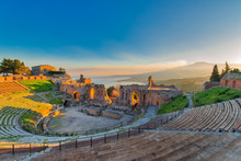 Ancient Theatre Of Taormina Wi...