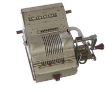 The Old Adding Machine Antique Calculator Meta Mechanism