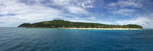 Panoramic Landscape And Seasca...