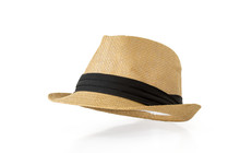 Straw Hat Isolated On White B...