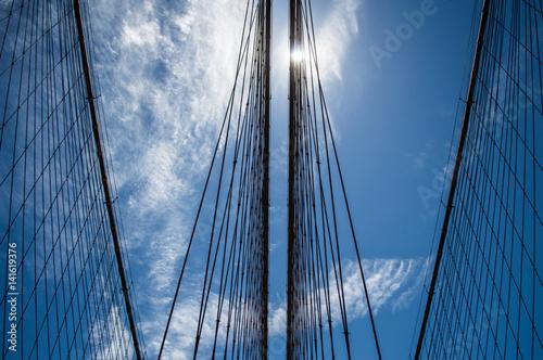Brooklyn Bridge in Manhattan, USA