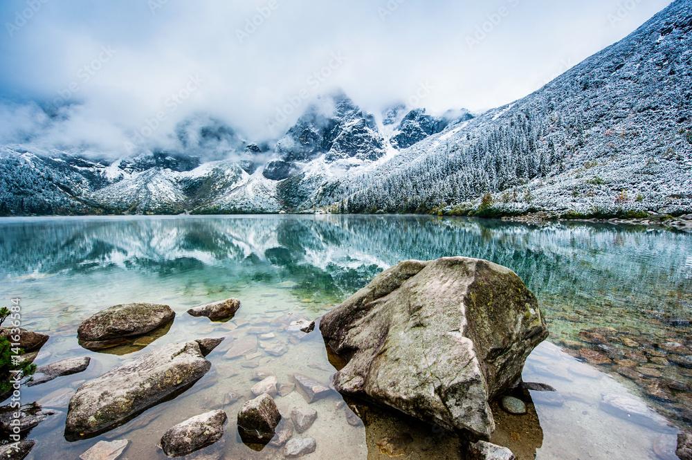 Fototapety, obrazy: Mountain view Morskie Oko