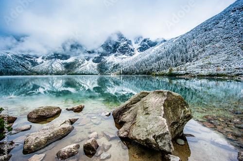 Zdjęcie XXL Widok na góry Morskie Oko