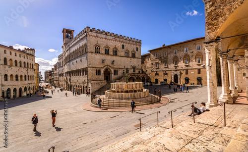 Fotografía  Piazza IV Novembre Perugia