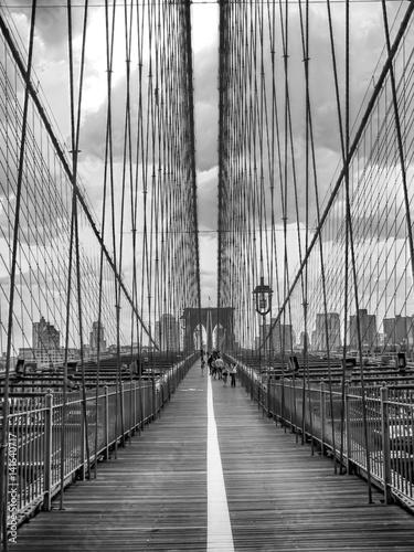 Fototapeta premium Most Brookliński, NYC