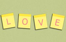 Sticky Note Love