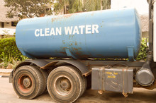 Blue Water Tank For Drinking Water