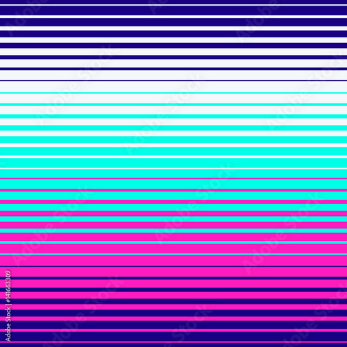 Cotton fabric Abstract geometric disco pattern. Bright neon colors. Memphis style pattern. Seamless vector pattern. Vector futuristic illustration.