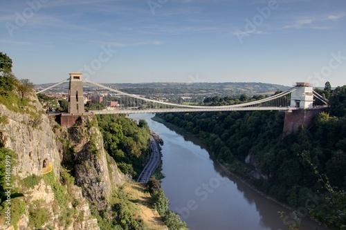 Clifton suspension bridge (pont suspendu de Bristol) Wallpaper Mural