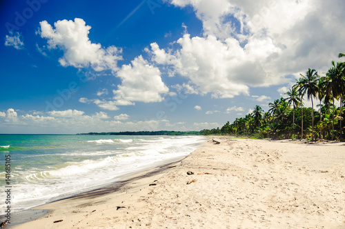 Fotografie, Obraz  view on remote beach by Tayrona national park