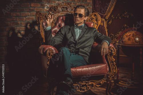 Fotografie, Tablou  imposing handsome