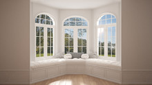Big Window With Garden Meadow ...