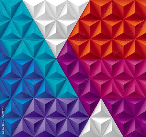 kolorowe-trojkaty-3-d