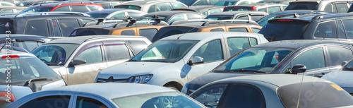Zdjęcie XXL Parkowanie samochodów