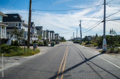 Street in the Hamptons, USA