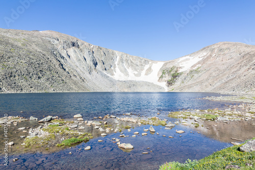Fotografie, Obraz  Alpine lake in the Big Horn mountains of Wyoming