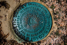Geodetic Survey Marker At Acad...