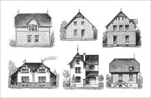 Collection Of Old Houses - Vin...
