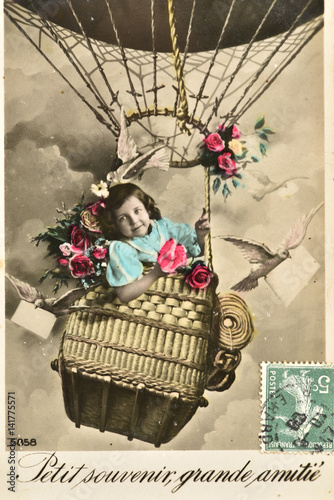 Fotografia  Carte postale ancienne / Amitié
