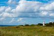 lighthouse on Årø island, denmark