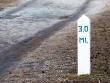 3 Mile Marker For Exerciseing