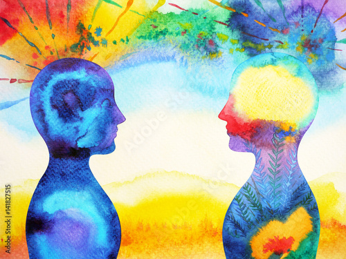 mastermind, chakra power, inspiration abstract thought together, world, universe Fotobehang
