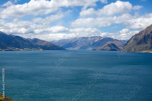 Photo  Beautiful lake in South Island, New Zealand
