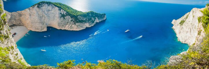 Zatoka Shipwreck - Navagio beach - Zakynthos Grecja